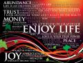 Enjoy life silk canvas